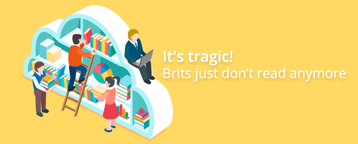 It's Tragic! Brits Just Dont Read Anymore