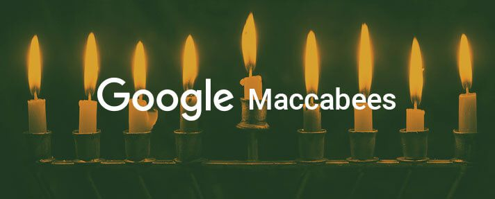 Is your site up to date for Google Maccabees?